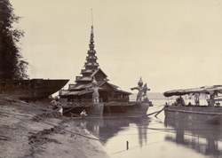 Floating Palace on the Irrawaddy River